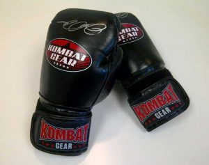 what are boxing gloves made of