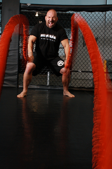 benefits of battle rope training