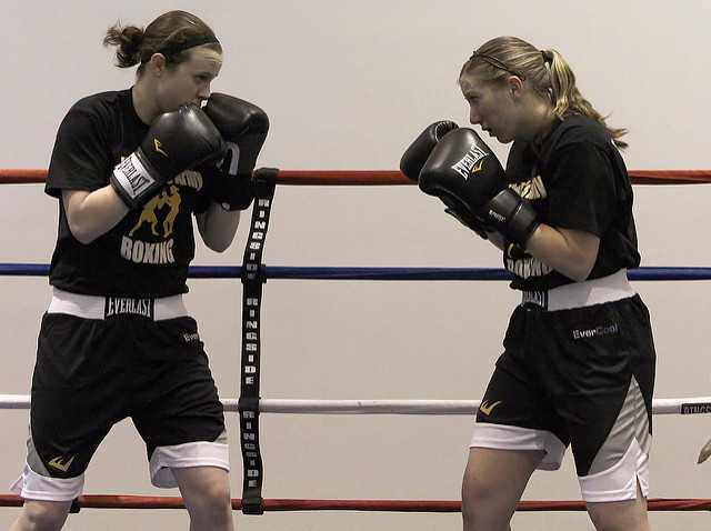 relieve your stress with boxing