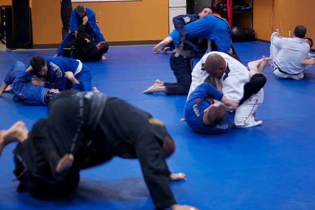 mental health benefits of BJJ sessions