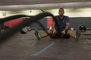 Battle rope training improves your explosiveness and thanks to it you can improve your striking