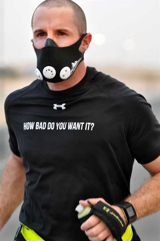 tips for training with a Training mask